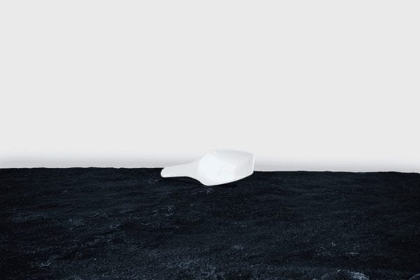 Isskovl - Hvid