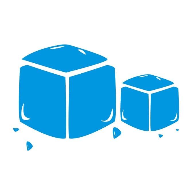 Prisgaranti på isterninger og knust is hos Isklart.