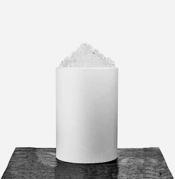 25 kg. cube is i tønde