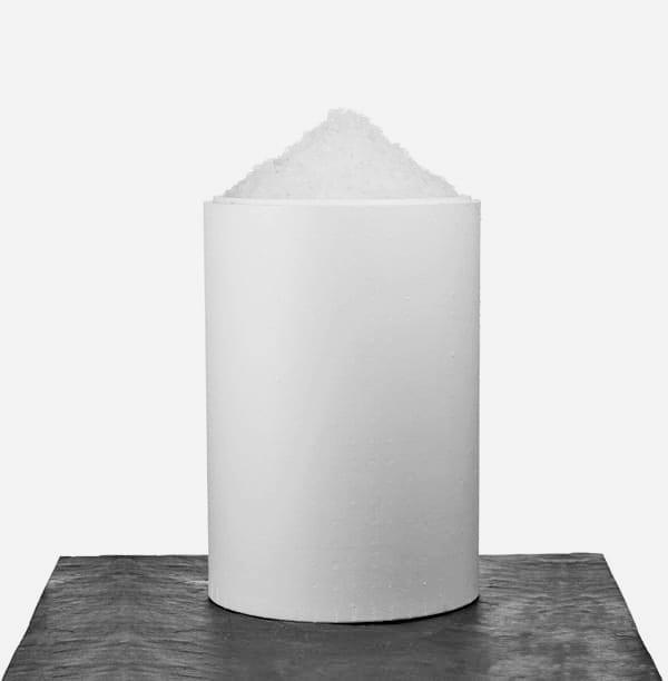 25 kg. knust is i termotønde