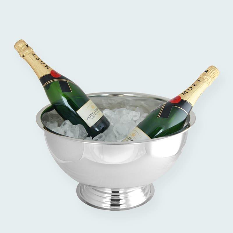 Tilbehør til din fest - Champagnekøler med isterninger